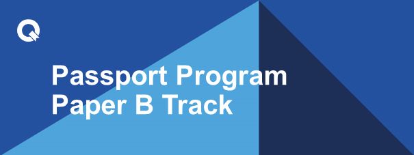 Passport Program Paper B Track